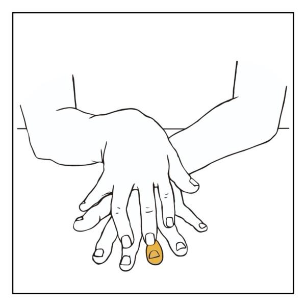 指のフロッタージュ(主観)