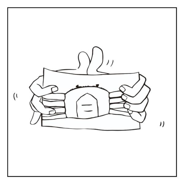 蟹の錯覚(客観)
